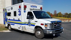 Medic 3 (Central Ohio Emergency Response) Tags: delaware county ems ohio emergency medical service ambulance ford medic