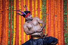 Mayurbhanj Chhau #72 (*Amanda Richards) Tags: mayurbhanjchhau dancers dance dancing dancer hindu indian kendra guyana georgetown guyanahindudharmicsabha performance performer 2019