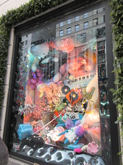 2019 Christmas Windows Bergdorf Goodman Dept Store 1605 (Brechtbug) Tags: 2019 christmas windows representing games the new york historical society with folk art figures holidays winter bergdorf goodman department store 5th avenue nyc between 57th 58th streets holiday monster mannequins 12082019 december