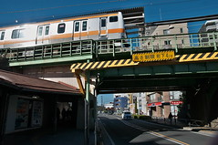 DSC_9462 (tohru_nishimura) Tags: nikond300s sigma1770284 nikon hino train station tokyo japan