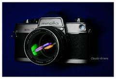 Minolta SR-7 (Claudio Arriens) Tags: vintage camera minolta rokkor minoltarokkorpf58mmf14 sr7 minoltasr7 35mm filmcamera cameracollection collection