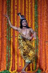 Mayurbhanj Chhau #37 (*Amanda Richards) Tags: mayurbhanjchhau dancers dance dancing dancer hindu indian kendra guyana georgetown guyanahindudharmicsabha performance performer 2019