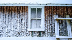 Camp Window (jtr27) Tags: img20191203130349 jtr27 motorola moto motog g7 phone camp cabin window snow