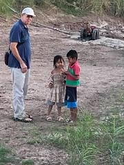 Edd with Esther and Joseph 1 (SierraSunrise) Tags: thailand phonphisai nongkhai isaan esarn people banmai