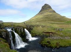 Grundarfjörður KirkjufellsfossAndMtKirkjufell (rhinorun123) Tags: iceland