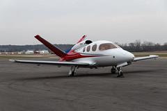 N507SA Cirrus SF50 0025 KARB (CanAmJetz) Tags: n507sa cirrus sf50 0025 karb arb annarbor bizjet vlj aircraft airplane single engine nikon