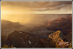 Monsoon Sunset (MikeJonesPhoto) Tags: grand canyon monsoon sunset 818 0386