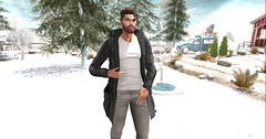 Des #0013 (Des1gual) Tags: catwa signature modulus letre h2oposes blog blogger customposes fashion secondlife male poses jacket hair fashionnatic