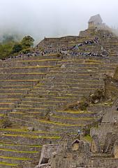 Made of Stone (Dmitry Shakin) Tags: peru machupicchu ruin mountain hill cloud terrace