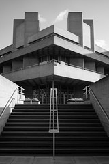 National Theatre (Loïc BROHARD) Tags: nationaltheatre brutalism architecture bnw blackandwhite london archi archilovers archiporn