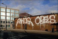 Swae / Oreks (Alex Ellison) Tags: swae oreks fireextinguisher tag urban graffiti graff boobs