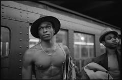 New York subway (RenaGinz) Tags: leicam7 leica35mmsummilux kodaktrix d76stocksolution holidaytrain vintagetrain mta newyork 2019