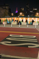 Union Square Holiday Market (wyliepoon) Tags: new york city manhattan union square holiday christmas festival market night 14th street busway bus lane rapid transit brt sbs select service mta