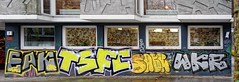 - (txmx 2) Tags: hamburg graffiti window reflection stpauli