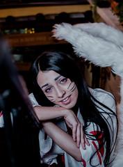 DSC_0512 (johnmoralesh) Tags: woman eyes dark night 35mm photography photoshoot fotografia fotografía model modelo magic light face closeup portrait cosplay beautiful beauty belleza seasons colombia nikon