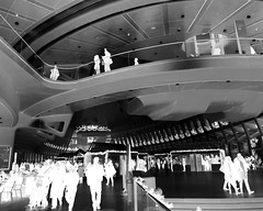spaceport 2050 HSS ! (m_big_b) Tags: nyc usa ny newyork architecture manhattan calatrava oculus iphone hss iphonography sliderssunday negative infrared