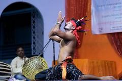 Mayurbhanj Chhau #71 (*Amanda Richards) Tags: mayurbhanjchhau dancers dance dancing dancer hindu indian kendra guyana georgetown guyanahindudharmicsabha performance performer 2019