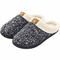 ULTRAIDEAS Women's Cozy Memory Foam Slippers Fuzzy Wool-Like Plush Fleece Lined House Shoes w/Indoor, Outdoor Anti-Skid Rubber Sole (bestdealsforeverybody) Tags: ultraideas womens cozy memory foam slippers fuzzy woollike plush fleece lined house shoes windoor outdoor antiskid rubber sole