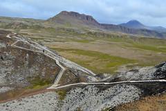 Gray Pants to Lava Nose Shoulder (Sotosoroto) Tags: iceland vesturland borgarbyggð grábrók dayhike hiking volcano stairs mountains