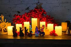 POTD 342-2019 (Webtraverser) Tags: 365picturesin2019 candles christmasdecoration creche everydayphotographer iphone11pro nativity pad2019342 pictureaday pictureoftheday potd2019 project365 shotoniphone11po stagecoachinnmuseum newburypark california unitedstatesofamerica
