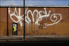 Akme (Alex Ellison) Tags: akme fireextinguisher tag urban graffiti graff boobs