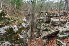 Bluff Trail (Richard Melton) Tags: rocks bluff trail nature alabama trees