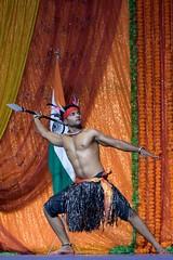 Mayurbhanj Chhau #61 (*Amanda Richards) Tags: mayurbhanjchhau dancers dance dancing dancer hindu indian kendra guyana georgetown guyanahindudharmicsabha performance performer 2019