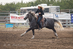 Vulcan Rodeo 2018 (tallhuskymike) Tags: vulcan alberta rodeo cowgirl horse western 2018 action event outdoors sidhartung barrelracing