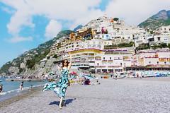 Positano Italy (yuanxizhou) Tags: portrait culture building amazing beautiful coast bluesky amalfi mediterranean positano italy travelphotography