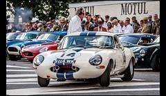 Jaguar E-type lightweight (1963) (Laurent DUCHENE) Tags: goodwoodrevival auto automobile automobiles motorsport historiccar historicevent classiccar historicrace car 2018 goodwoodmotorcircuit jaguar etype lightweight