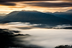 Atmospheric (Justin Jovellanos) Tags: maligcong mountainscape mountainprovince cordillera bontoc philippines longexposure seaofclouds mood atmospheric