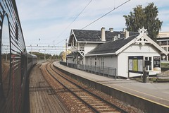 Årnes station, Norge (Michael Erhardsson) Tags: norway norge stasjon 2018