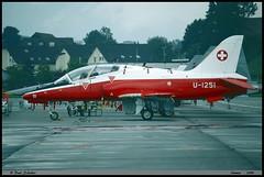 HAWK T66 U-1251 SW001-336 Emmen  juillet 1999 (paulschaller67) Tags: hawk t66 u1251 sw001336 emmen 1999 juillet