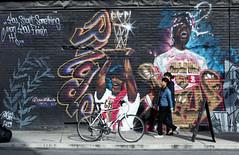 On the Streets Toronto. (Bernard Spragg) Tags: toronto street urban art walls painting murals lumix cityscapes city compactcameras artonwalls