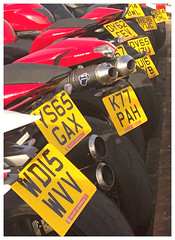 I've got your number! (The Stig 2009) Tags: thestig2009 thestig stig 2009 2019 tony o tonyo number plates motorbikes red ducati fun candid apple iphone 8 plus