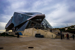 Lyon0014 (schulzharri) Tags: frankreich france architektur architecture lyon modern grafisch