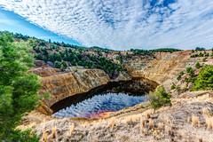 Kokkinopezoula - The Red Lake (George Plakides) Tags: kokkinopezoula redlake mitsero cyprus pyrite crater