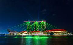 Marina Bay Lightshow (EriccpSam) Tags: marina bay lightshow singapore downtown night light show a7iii sony sky