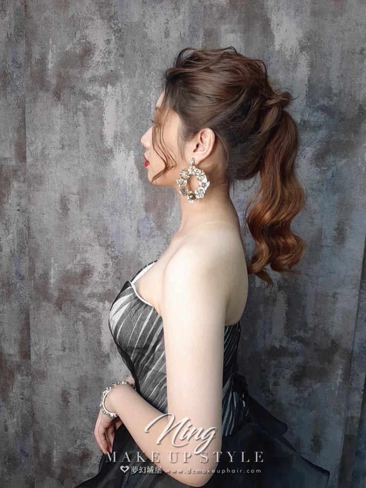 【新秘羽寧】新娘造型創作 /  女神高馬尾