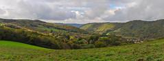 la vallée du Tarn et La Condomine (à droite ) (jean-marc losey) Tags: france occitanie tarn ambialet lacondomine vallée panorama randonnée lightroom d700 automne