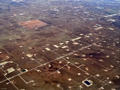 Oil Patches (zeesstof) Tags: aerialview businesstrip geo:lat=3194205936 geo:lon=10201936918 geotagged maftoiah midland texas viewfromwindow windowseat zeesstof