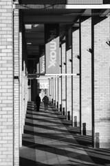 from T K Max to M&S (louys:) Tags: colonnade shadows edinburgh fujixt2 architecture primelens leitzteleelmaritmf28 dof manualfocus