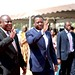 Presidents Cyril Ramaphosa and Faure Gnassingbé tours Togo Port