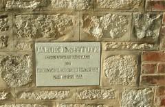 Jabuk Mechanics' Institute foundation stone laid in April 1930 / this is all that remains of the institute hall which has been demolished. South Australia (contemplari1940) Tags: jabuk state school mechanics institute baptist church marmonjabuk range ngarkat jabeelitz foundation stone pinnaroo railway line war memorial gateway
