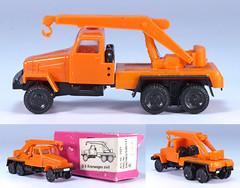 DDR-G5-Crane-B (adrianz toyz) Tags: adrianztoyz 187 plastic ddr gdr eastgermany model toy scale espewe veb plastspielwaren berlin g5 crane truck 1021 ho
