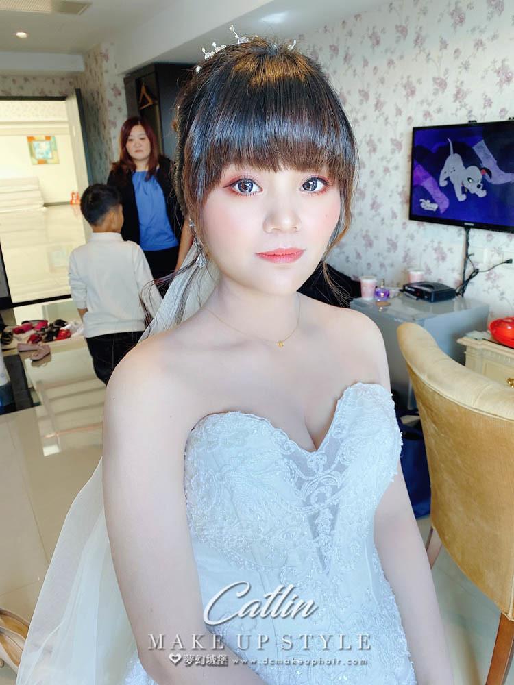 【新秘Catlin 】bride文文 訂結婚造型 / 甜美風格