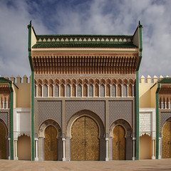 Doors of the royal palace (JLM62380) Tags: doors royal palace morocco place square fes fez portes palais