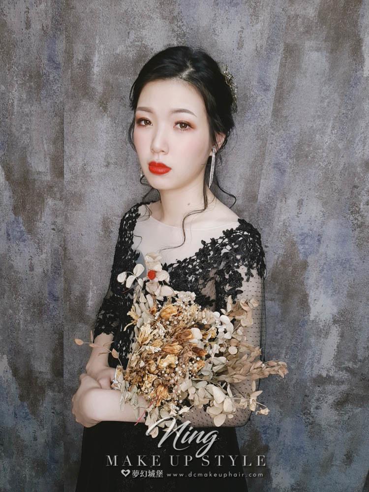 【新秘羽寧】新娘造型創作 / 優雅盤髮