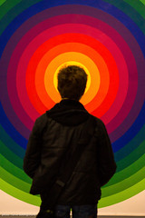 Exhibition DYNAMO - Julio Le Parc : Surface couleur - série 14-2E 1971 (hervedulongcourty) Tags: photo rouge exhibition art sony julioleparc ombre grandpalais red exposition contemporaryart expositiondynamo paris artist photography nex7 artcontemporain sonynex7 europe france shadow sonyflickraward