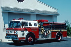 NJ Raritan Township (adelaidefire) Tags: nj raritan township engine 2163 ford c fmc new jersey